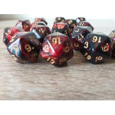 20-sided dice (burgundy)