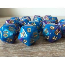 20-sided dice (blue-purple)