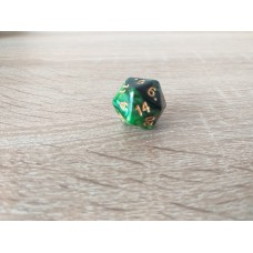 20-sided dice (green)