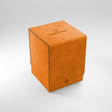 """Gamegen!c premium deck box, ''Squire 100+ convertible"""" (orange)"""