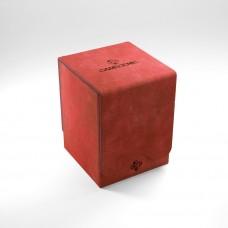 "Gamegen!c premium deck box, ''Squire 100+ convertible"" (red)"