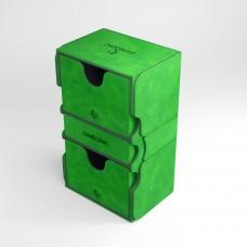 "Gamegen!c premium deck box, ''Stronghold 200+ convertible"" (green)"