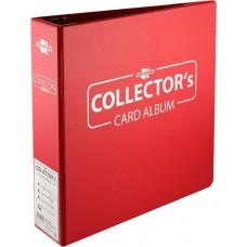 Blackfire 3 ring Collectors Album - Red