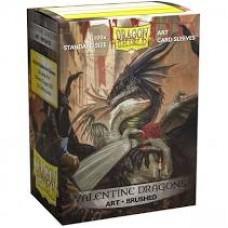 Dragon shield art: Valentine Dragons