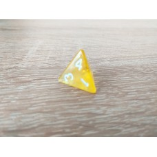 4-sided dice (yellow)