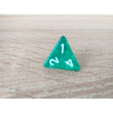4-sided dice (green)