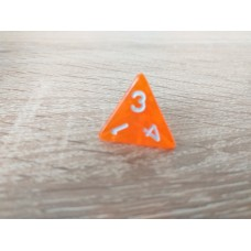 4-sided dice (orange)