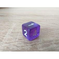 6-sided dice (purple)