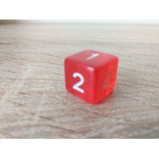 6-sided dice (red)