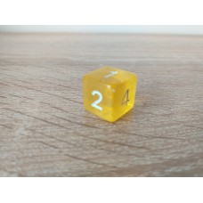 6-sided dice (yellow)