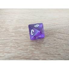 8-sided dice (purple)