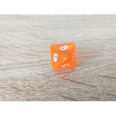 8-sided dice (orange)