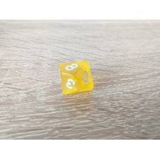 10 - sided dice (yellow)