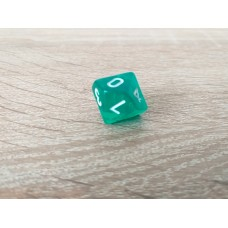 10-sided dice (green)