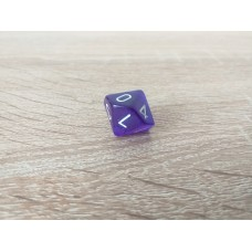 10-sided dice (purple)