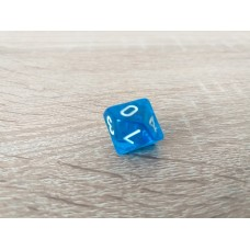 10-sided dice (blue)