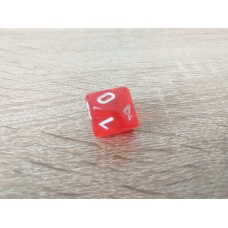 10-sided dice (red)