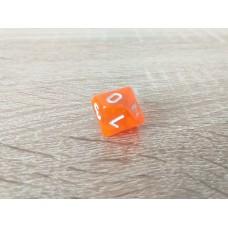 10 - sided dice (orange)