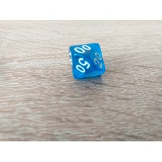 %-sided dice (blue)