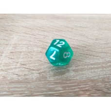 12-sided dice (green)