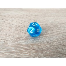 12-sided dice (blue)