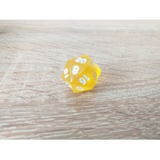 20 - sided dice (yellow)