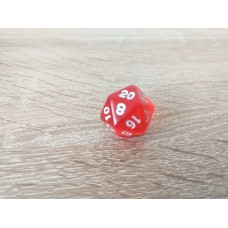 20-sided dice (red)
