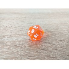 20 - sided dice (orange)