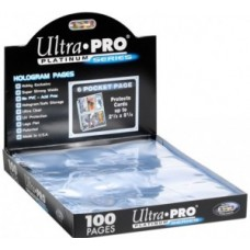 Ultra Pro card holder folder sheet, size 9  (Attention: only in 3-ring folders!)