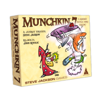 Munchkin 7. - Watch my hand because I'm cheating